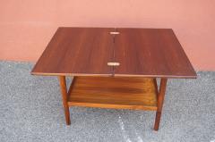 Vintage Danish Rosewood Flip top Tea Table - 1635491