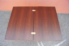 Vintage Danish Rosewood Flip top Tea Table - 1635492