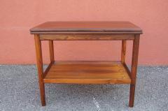 Vintage Danish Rosewood Flip top Tea Table - 1635493