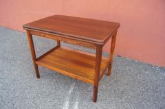 Vintage Danish Rosewood Flip top Tea Table - 1635494