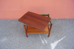 Vintage Danish Rosewood Flip top Tea Table - 1635495