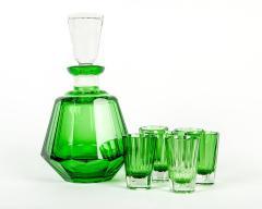 Vintage Daum Cut Crystal Liqueur Set - 71192