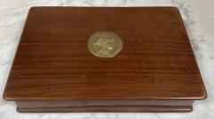 Vintage Decorative Italian Wood Box 1970s - 2078277