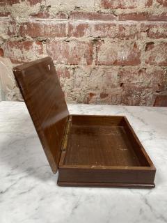 Vintage Decorative Italian Wood Box 1970s - 2078281