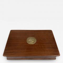 Vintage Decorative Italian Wood Box 1970s - 2081515