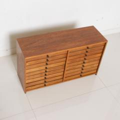 Vintage Dental Cabinet Solid Wood Multi Drawer Jewelry Box Apothecary Chest - 1610999