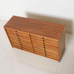 Vintage Dental Cabinet Solid Wood Multi Drawer Jewelry Box Apothecary Chest - 1611000