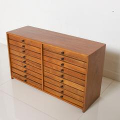 Vintage Dental Cabinet Solid Wood Multi Drawer Jewelry Box Apothecary Chest - 1611001