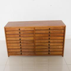 Vintage Dental Cabinet Solid Wood Multi Drawer Jewelry Box Apothecary Chest - 1611002