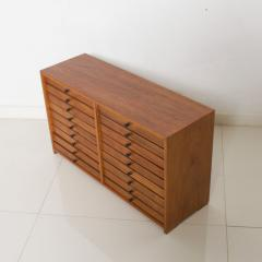 Vintage Dental Cabinet Solid Wood Multi Drawer Jewelry Box Apothecary Chest - 1611004