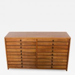Vintage Dental Cabinet Solid Wood Multi Drawer Jewelry Box Apothecary Chest - 1612439
