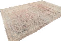 Vintage Distressed Wool Rug 10 X 14 - 1557917
