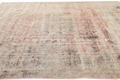 Vintage Distressed Wool Rug 10 X 14 - 1557918