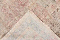 Vintage Distressed Wool Rug 10 X 14 - 1557924
