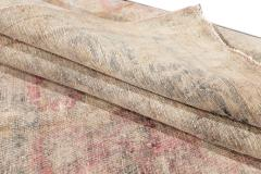 Vintage Distressed Wool Rug 10 X 14 - 1557926