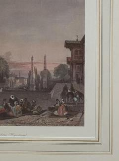 Vintage Engraving of the Blue Mosque Circa 20th Century - 1401209