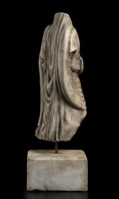 Vintage Figurative Marble Torso Sculpture of a Man Grand Tour After the Antique - 2000791