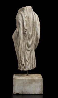 Vintage Figurative Marble Torso Sculpture of a Man Grand Tour After the Antique - 2000793