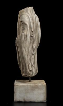 Vintage Figurative Marble Torso Sculpture of a Man Grand Tour After the Antique - 2000794