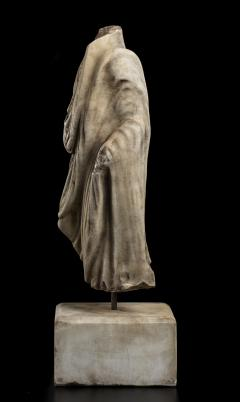 Vintage Figurative Marble Torso Sculpture of a Man Grand Tour After the Antique - 2000795