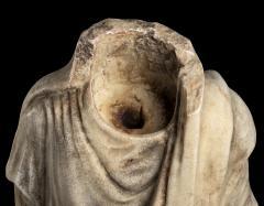 Vintage Figurative Marble Torso Sculpture of a Man Grand Tour After the Antique - 2000798