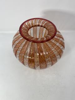 Vintage Filligrana Murano Glass Vase - 2134060