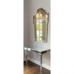 Vintage French Art Deco Eglomise Regency Mirrors a Pair - 2141860