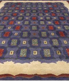 Vintage French Art Deco Rug by Paule Leleu - 493224