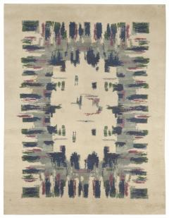 Vintage French Deco Rug - 493307