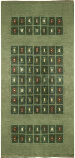 Vintage French Deco Rug - 493343