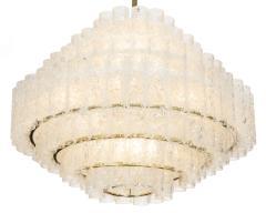 Vintage Glass Pendant Light By Doria - 869878