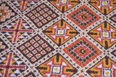 Vintage Hand Knotted Berber Wool Tribal Rug - 1314243