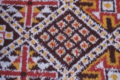 Vintage Hand Knotted Berber Wool Tribal Rug - 1314249