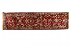 Vintage Hand Knotted North American Wool Area Rug - 1169139