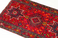 Vintage Hand Knotted Persian Wool Area Rug Runner - 1169123