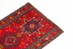 Vintage Hand Knotted Persian Wool Area Rug Runner - 1169126