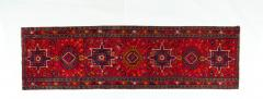 Vintage Hand Knotted Persian Wool Area Rug Runner - 1169129