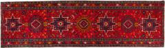 Vintage Hand Knotted Persian Wool Area Rug Runner - 1169216