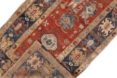 Vintage Heriz Wool Runner - 1559195