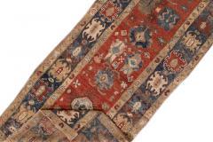 Vintage Heriz Wool Runner - 1559196