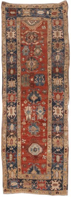 Vintage Heriz Wool Runner - 1559197