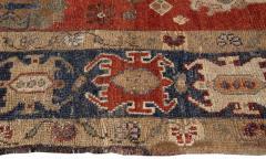 Vintage Heriz Wool Runner - 1559199