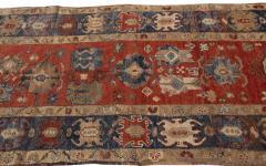 Vintage Heriz Wool Runner - 1559200