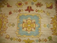 Vintage Inspired Oversized Oushak Rug - 863095