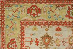 Vintage Inspired Oversized Oushak Rug - 863097