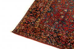 Vintage Iranian Hand Knotted Wool Area Rug - 1169184