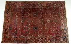 Vintage Iranian Hand Knotted Wool Area Rug - 1169191