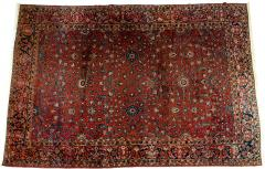 Vintage Iranian Hand Knotted Wool Area Rug - 1169222