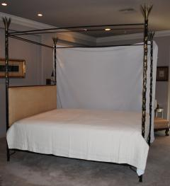 Vintage Iron and Brass California King Bed - 958858