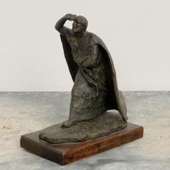 Vintage Italian Bronze Statue of A Man - 1570959